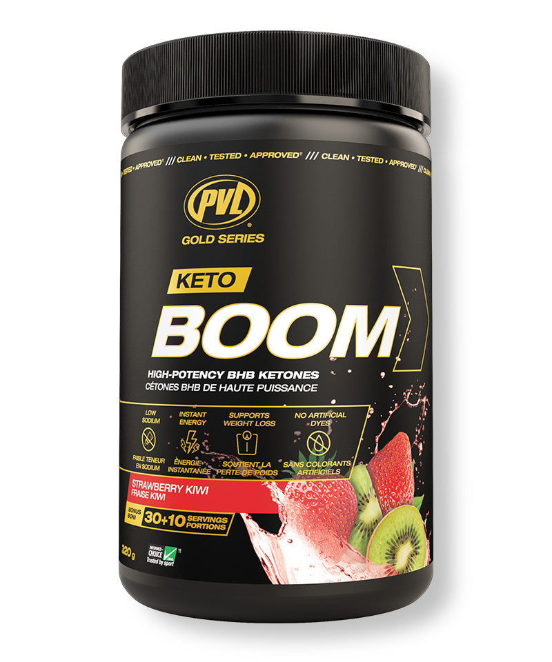 Keto Boom 320g - Strawberry Kiwi Flavour