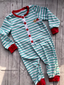 IMPERFECT Milk and Cookie Drop Seat Romper