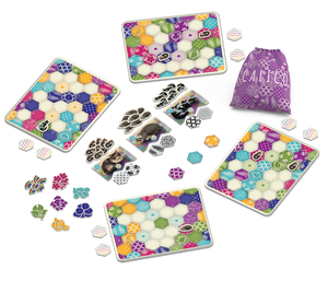 Calico board game pieces