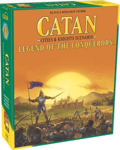 Catan: Cities & Knights - Legend of the Conquerers