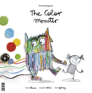 The Color Monster game from Devir