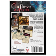 Load image into Gallery viewer, Cutthroat Caverns Death Incarnate Back of Box