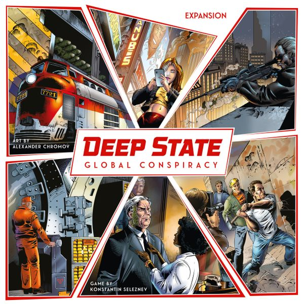 Deep State Global Conspiracy Expansion