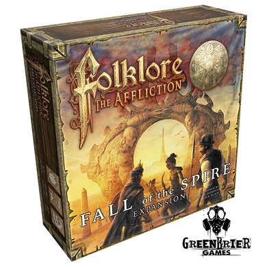 Folklore The Affliction - Fall of the Spire front cover