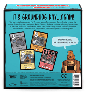 Groundhog Day: The Game back of the box