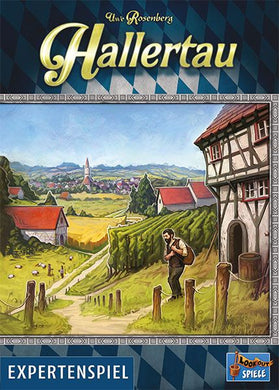 Hallertau box cover from Lookout Games