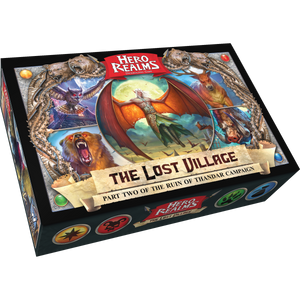 Hero Realms The Lost Village box