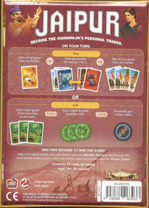 Jaipur 2nd Edition back of the box