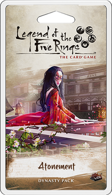 Legend of the 5 Rings LCG Atonement Dynasty Pack