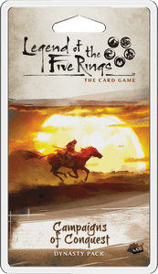 Legend of the 5 Rings LCG Campaigns of Conquest Dynasty