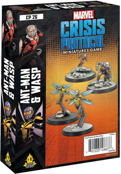 Marvel Crisis Protocol: Ant Man and Wasp