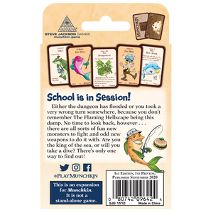 Munchkin Something Fishy Back Cover