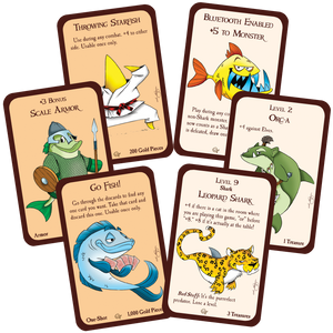 Munchkin Something Fishy Cards