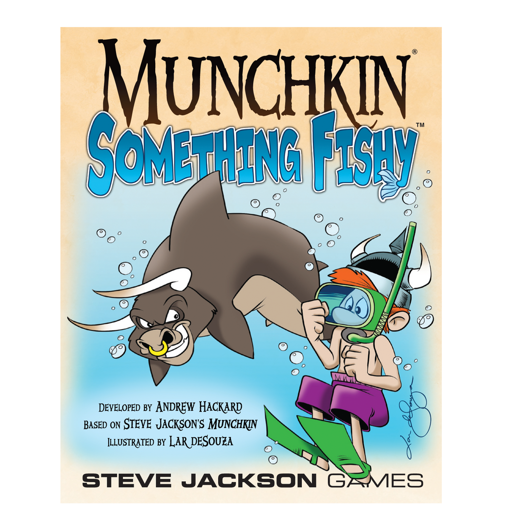 Munchkin Something Fishy Front Cover