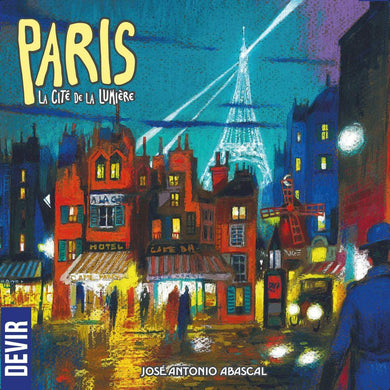 Paris: La Cite de la Lumiere board game from Devir