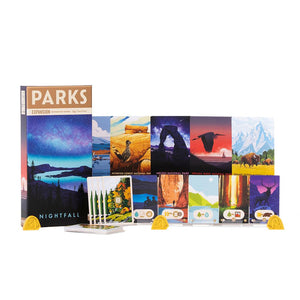 Parks Nightfall box and cards