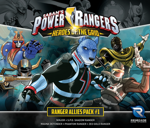 Power Rangers Heroes Ranger Allies Pack 1