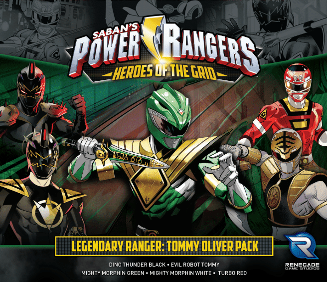 Power Rangers Heroes Tommy Oliver Pack