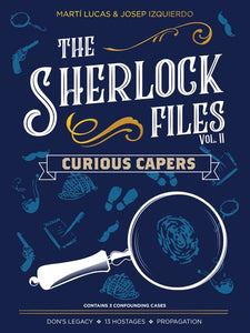 Sherlock Files Volume 2 Curious Capers