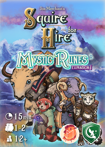 Squire for Hire Mystic Runes Box Art