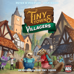 Tiny Towns Villagers Expansion Box Cover