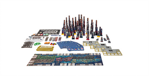 Components of High Rise board game
