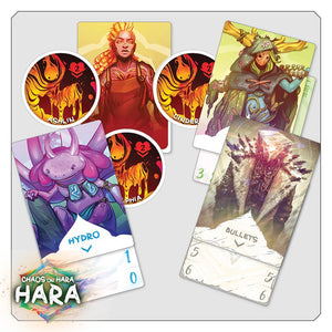 chaos on hara cards