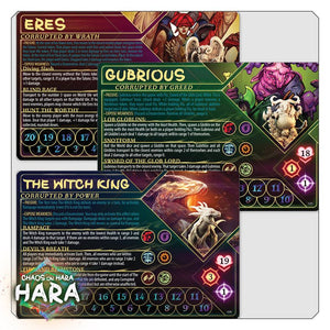 chaos on hara player cards