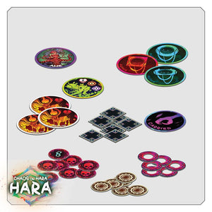 chaos on hara game pieces