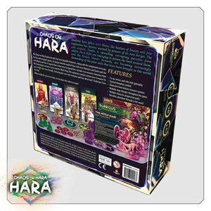 Chaos on Hara back of the box