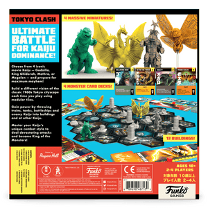 Godzilla Tokyo Clash back of the box