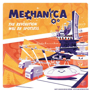 Mechanica Game Cover