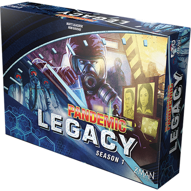 Pandemic Legacy Season One Blue
