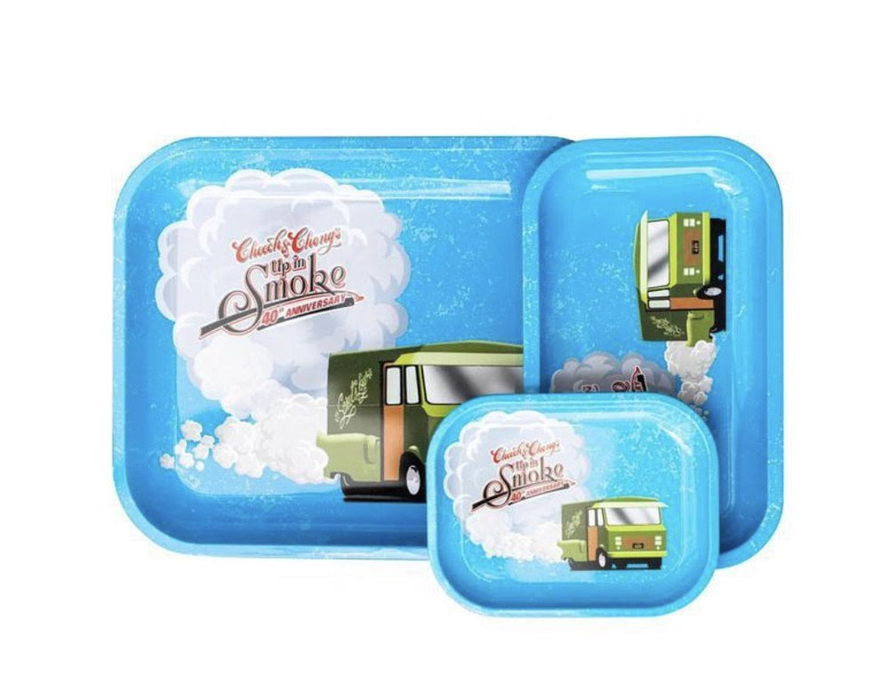 40th Anniversary Cheech & Chong Blue Tray