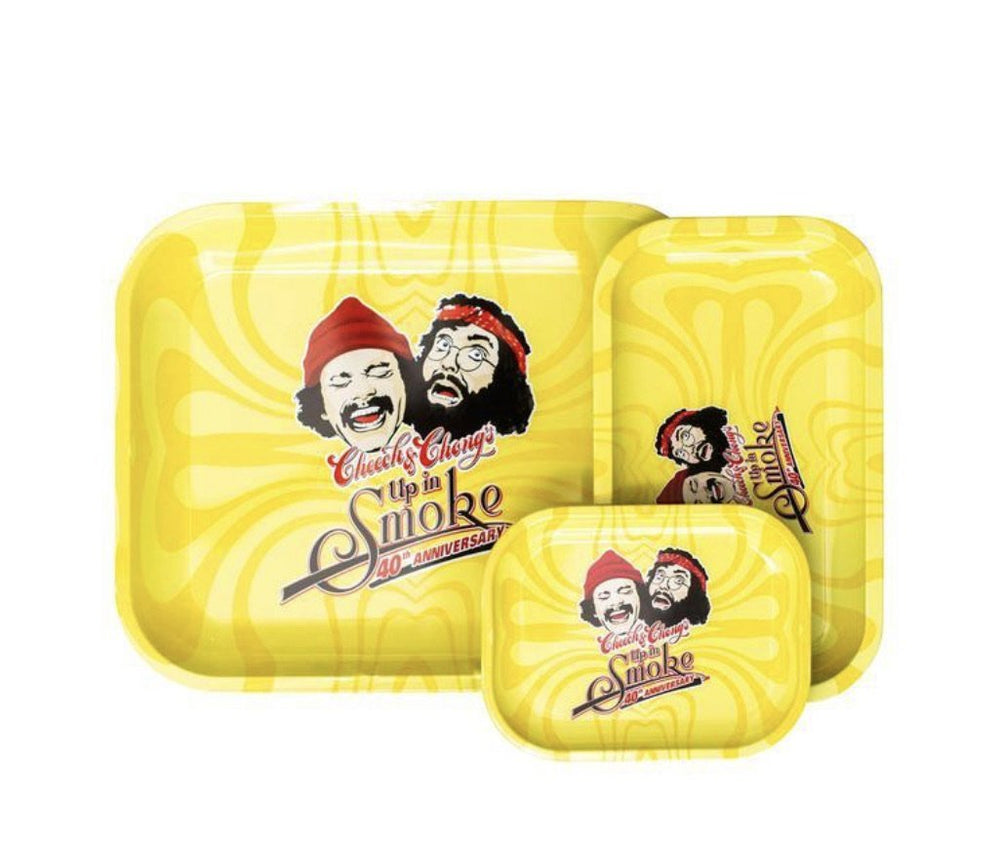 40th Anniversary Cheech & Chong Yellow Tray - SoBe Hookah