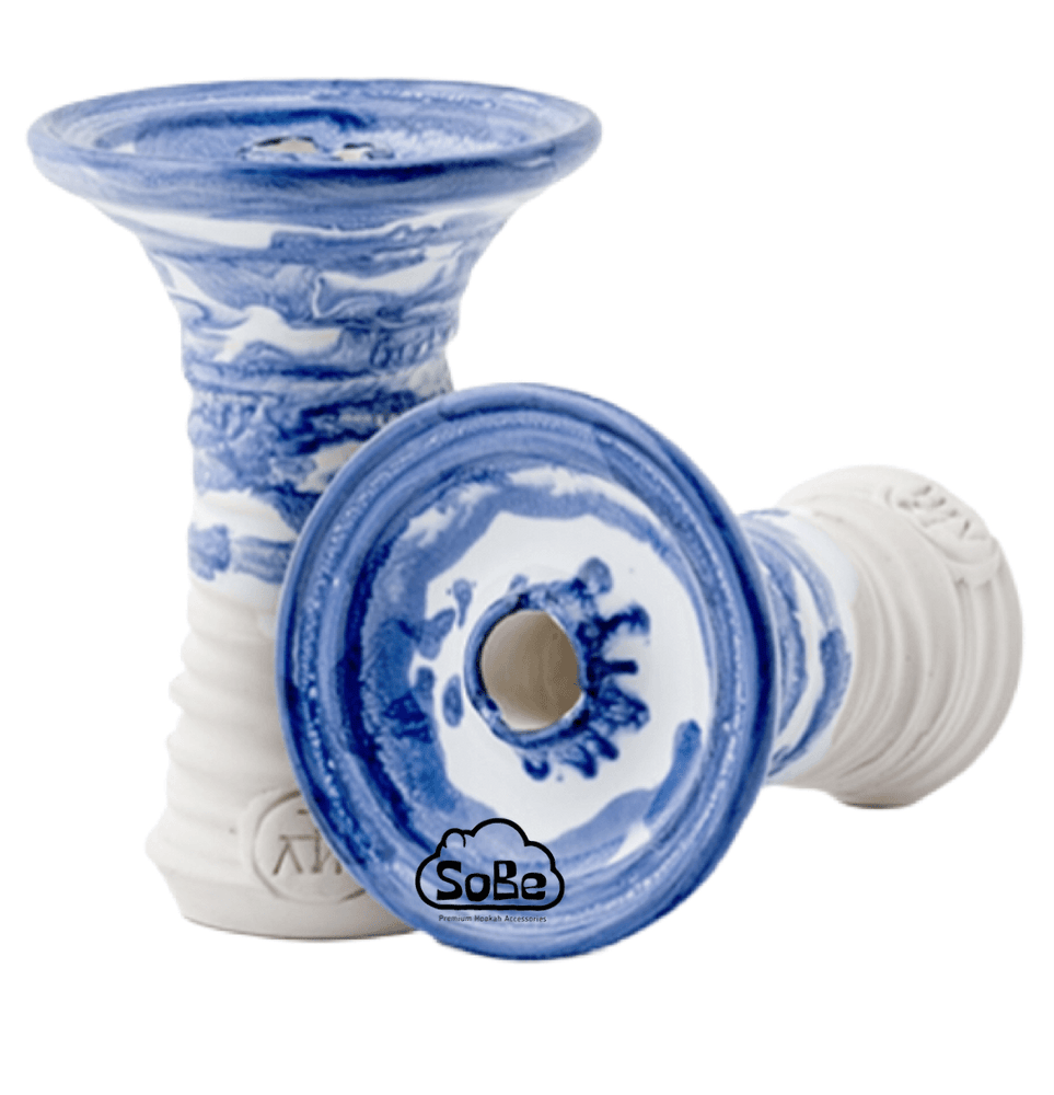 Adalya ATH Phunnel Hookah Bowl Glazed Blue