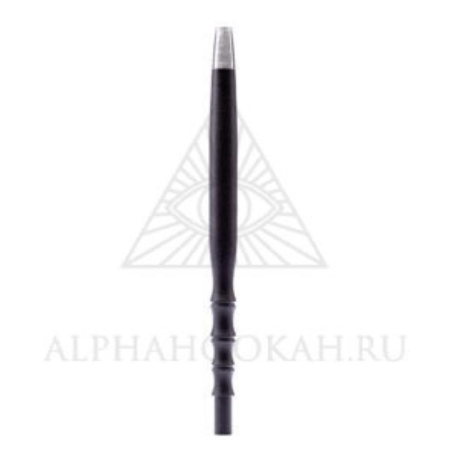 Alpha Hookah Hose Handle Black
