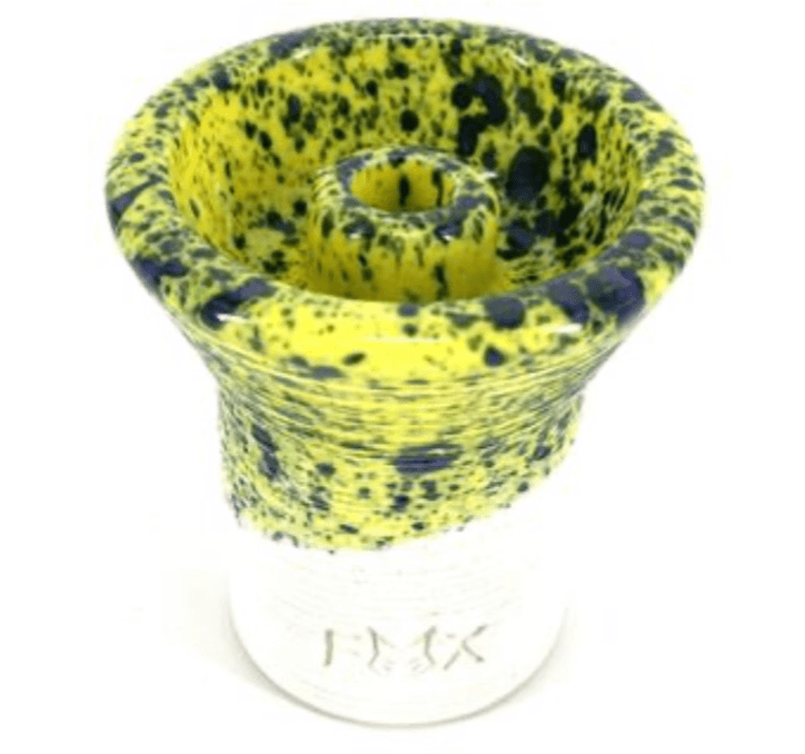 FOX Phunnel Hookah Bowl Glazed white Clay