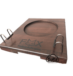 Fox Wooden Hookah Stand and Hose Holder - SoBe Hookah