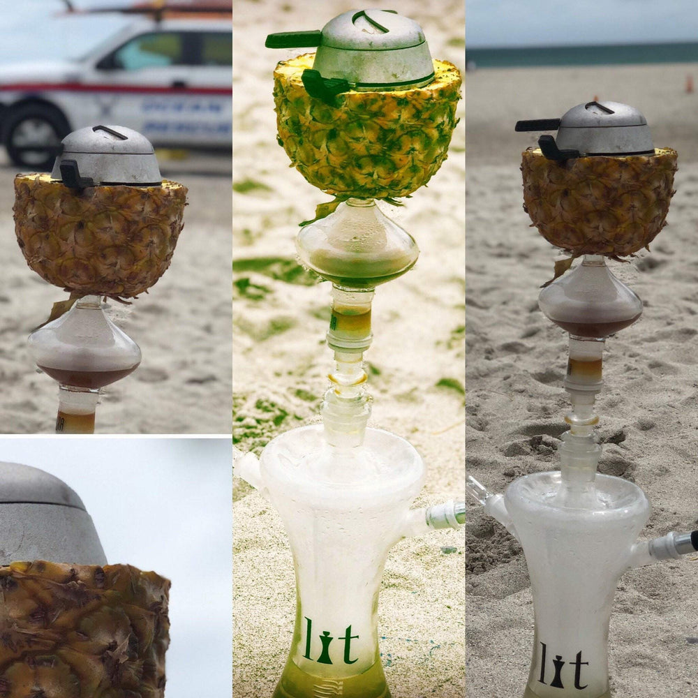 Glass Art Hookah Rental In Miami - SoBe Hookah