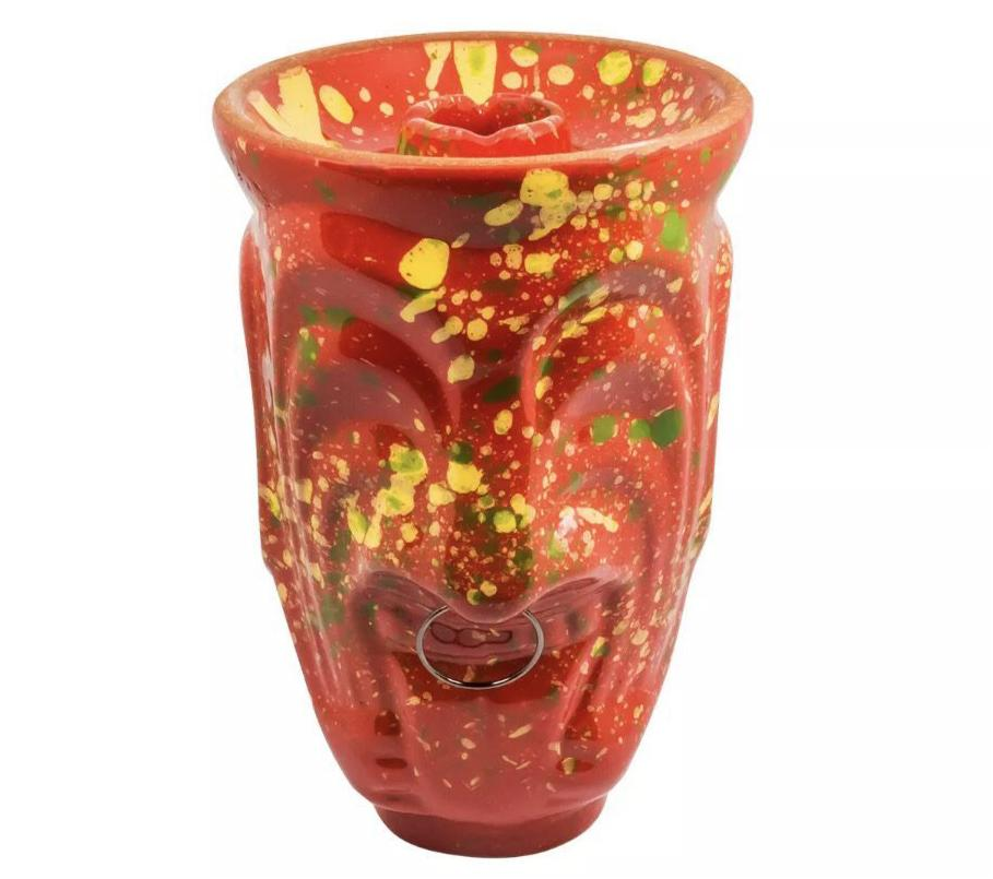 Harvik hookah bowl TIKI Red