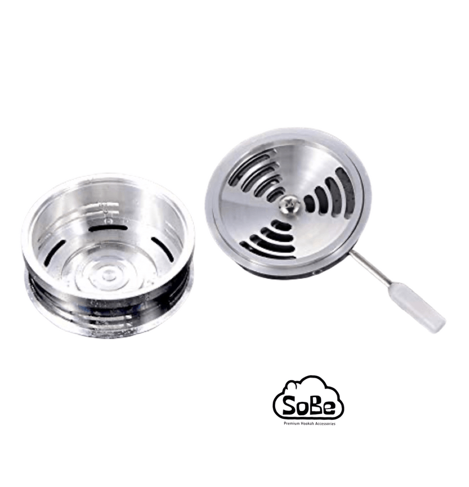 Hookah Charcoal Holder - Heat Management System - SoBe Hookah