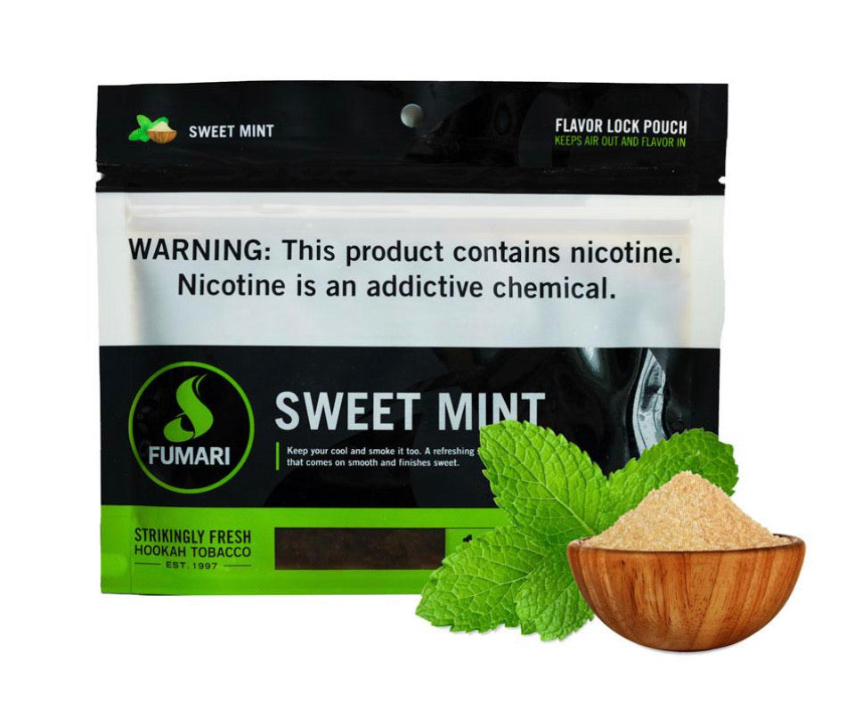 Fumari Tobacco 100 Grams - Sweet Mint