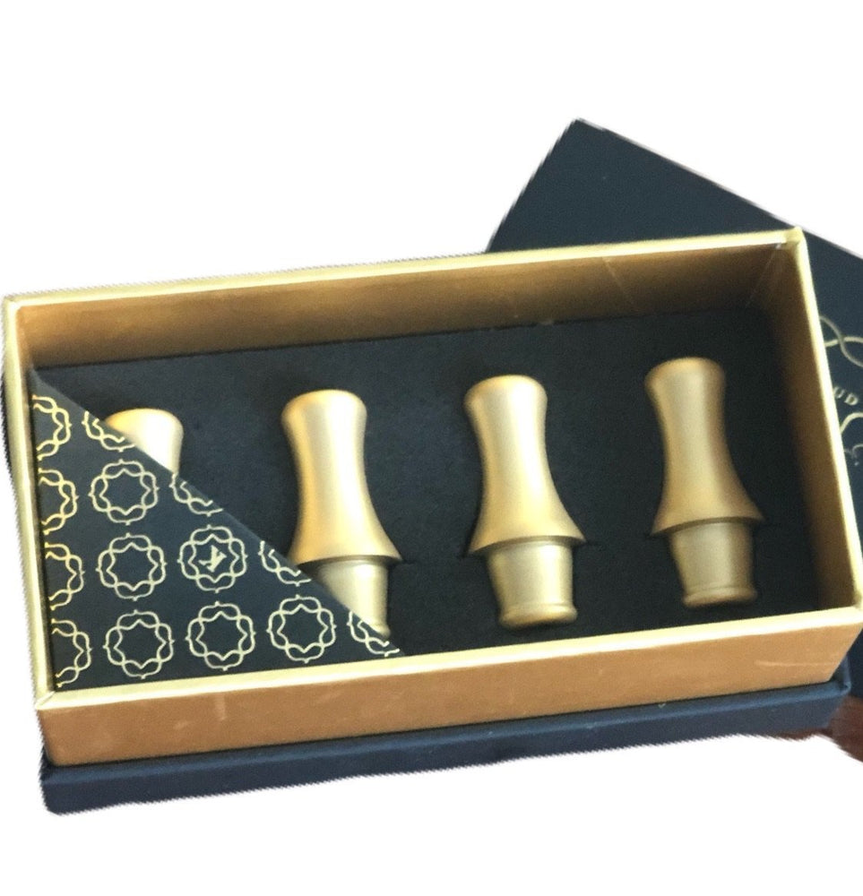 Kaloud Aeolis Gold Hose Tips (Pack of 4)