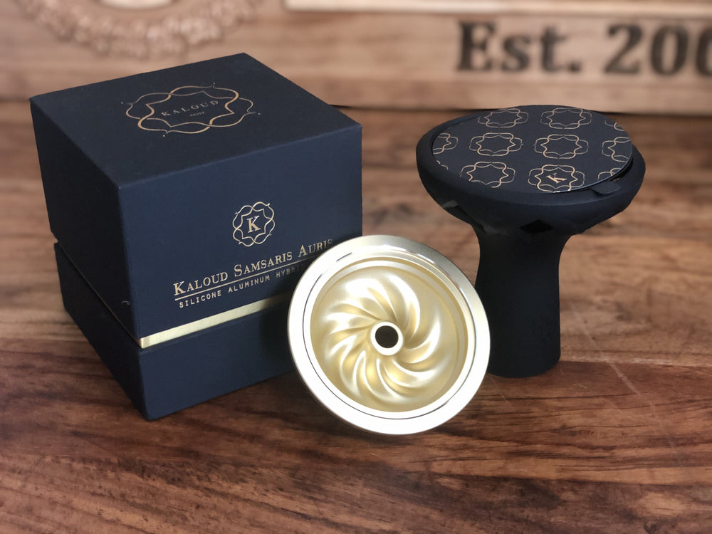 Kaloud Samsaris Auris Aluminum Bowl for Lotus I and Lotus I+ - SoBe Hookah