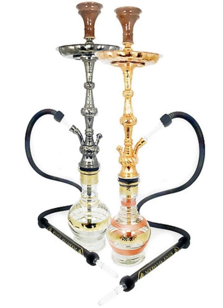 "KHALIL MAMOON MESSI: 33"" SINGLE HOSE HOOKAH"