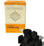 Le Orange Hookah Coconut Shell Charcoal 100% Natural Lotus Head 2.2lb of pieces