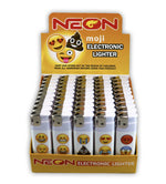 Neon Emoji Lighter Pack 50ct