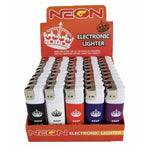 Neon Keep Calm Lighter Pack 50ct