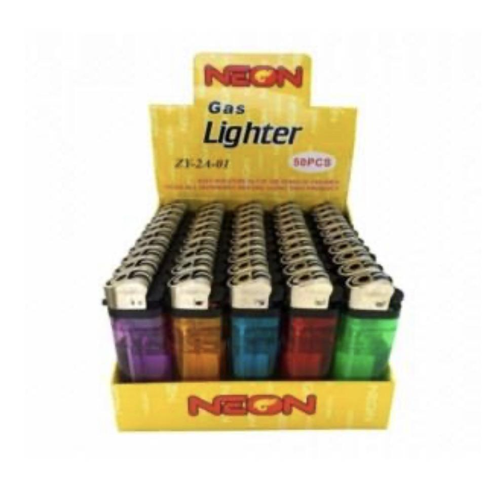 Neon Lighter Pack 50ct
